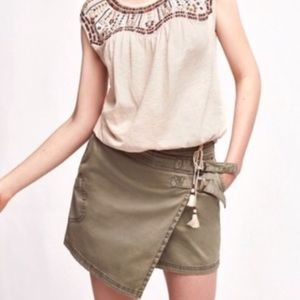 Anthropologie Utility Skort by Hei Hei